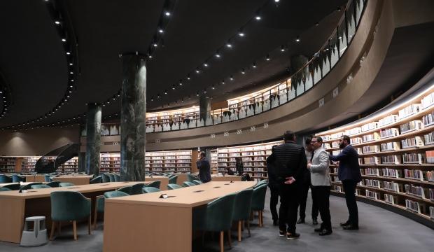 افتتاح أكبر مكتبة عامة في اسطنبول بمنطقة باشاك شهير