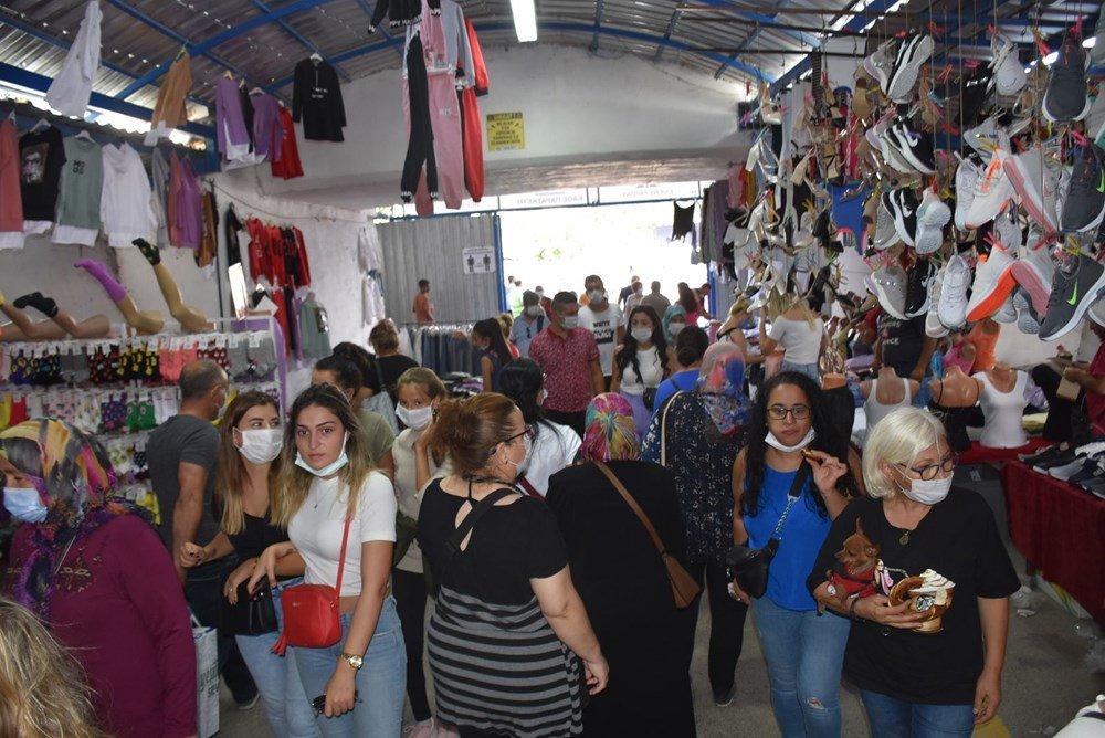 أسواق أدرنة التركية تعج بالزبائن البلغاريين